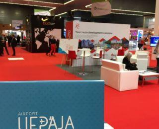 REPRESENTATIVES OF LIEPAJA AIRPORT AT AVIATION FORUM IN SPAIN