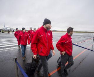 Baltkrievijas hokeja valstsvienība ierodas Liepājā