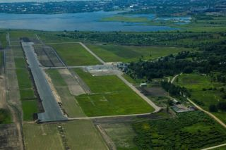 2015 - Liepāja airport from the pilot`s view!