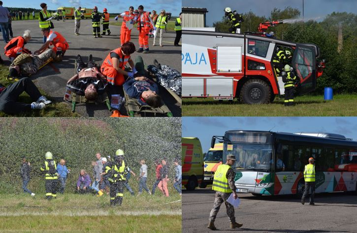 a LARGE SCALE EMERGENCY SITUATION TRAINING
